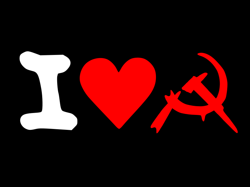 i love communism by worker - I love communism