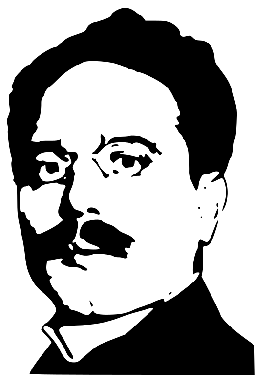Karl Liebknecht by worker -