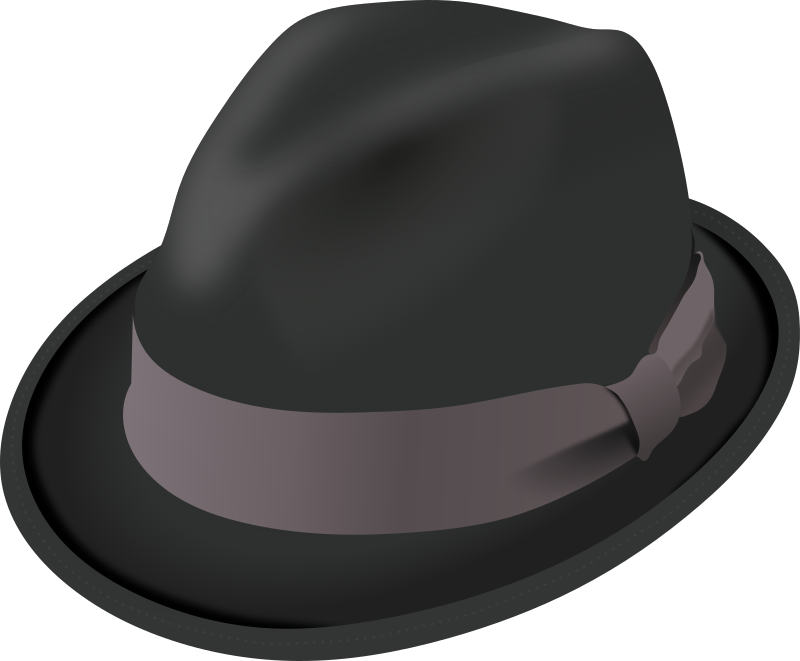 Trilby hat by PomPrint - A Trilby hat (a type of Fedora).