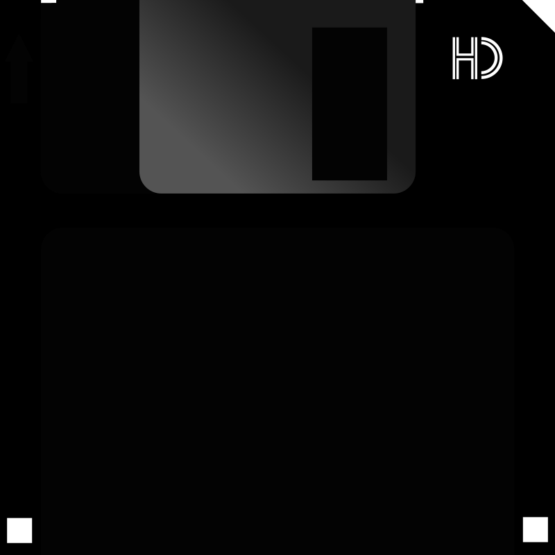 Diskette 3 1/2 High-density by adruki