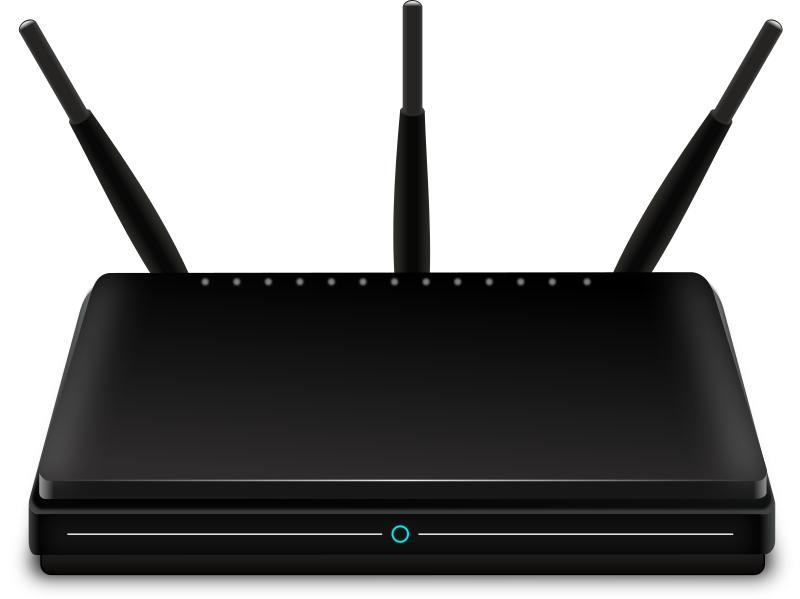 Wireless router by Spack - A wireless router.