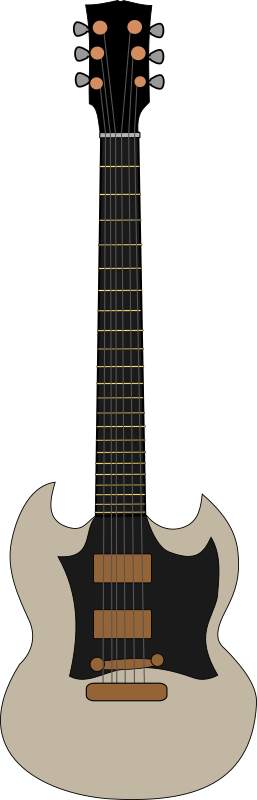 Gibson SG by Piemaster - A svg of a Gibson SG