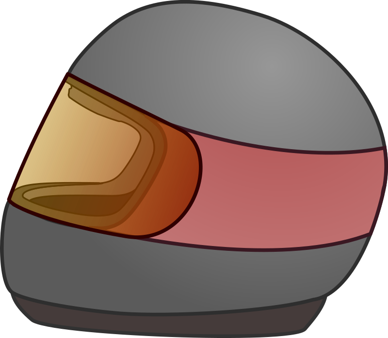 Simple Bike Racing Helmet Icon by qubodup - Hopefully for Trigger Rally