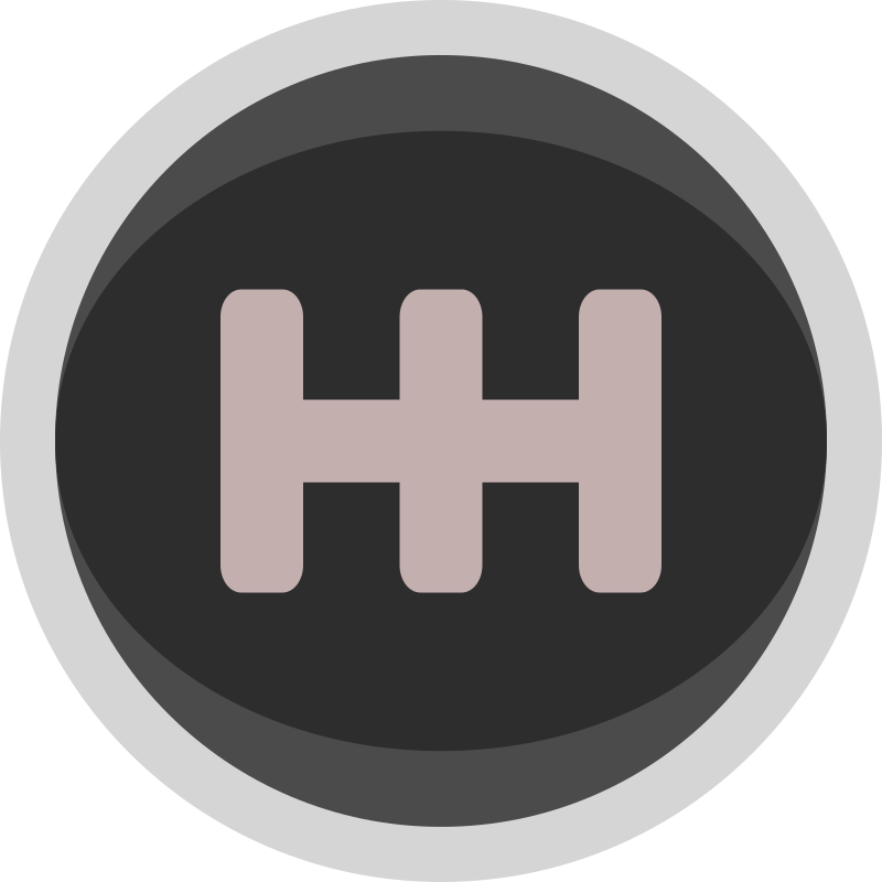 Racing Gear Shift Knob Icon Simple by qubodup - hopefully for trigger rally