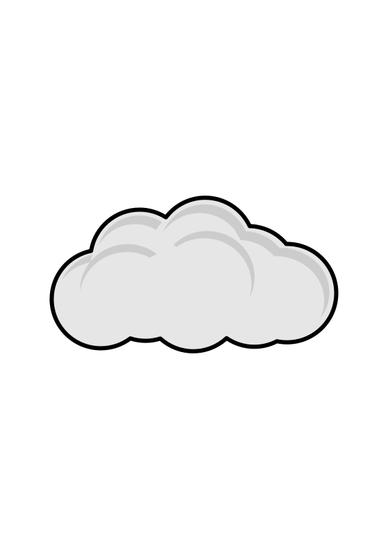 Simple Cloud by halattas - sign cloud