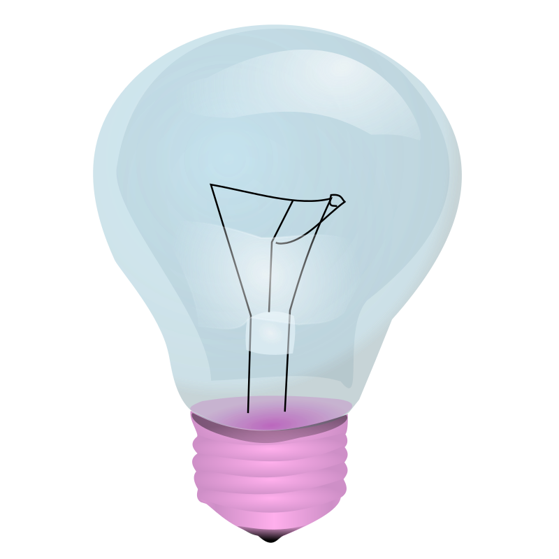 light bulb by frankes - a not shining light bulb
