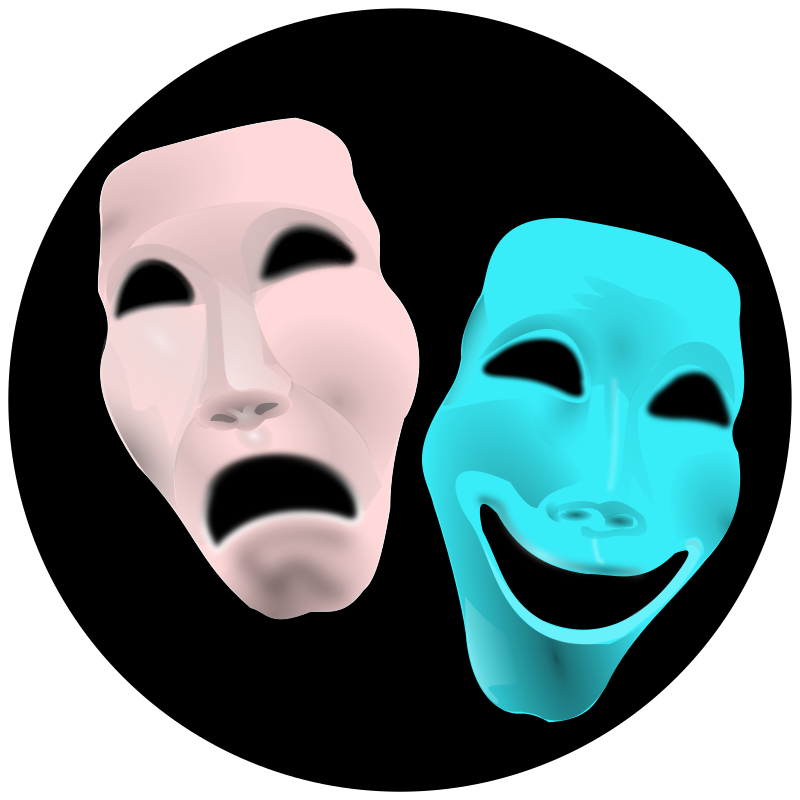 Comedy Clipart Clipart - theatre