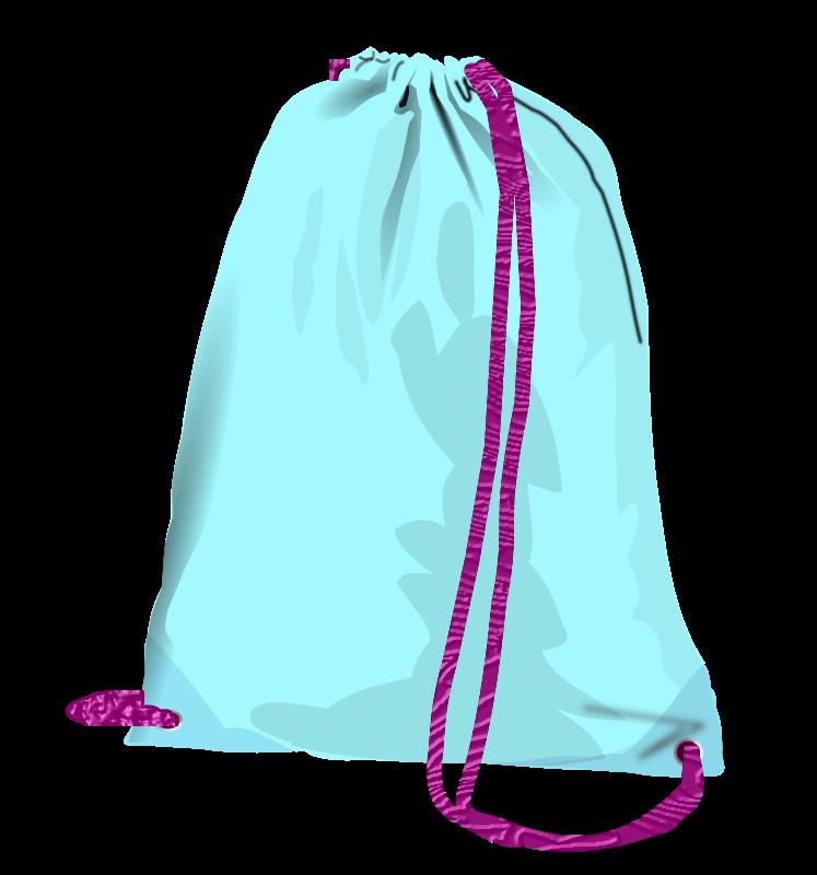 Clipart - sport bag (pouch)