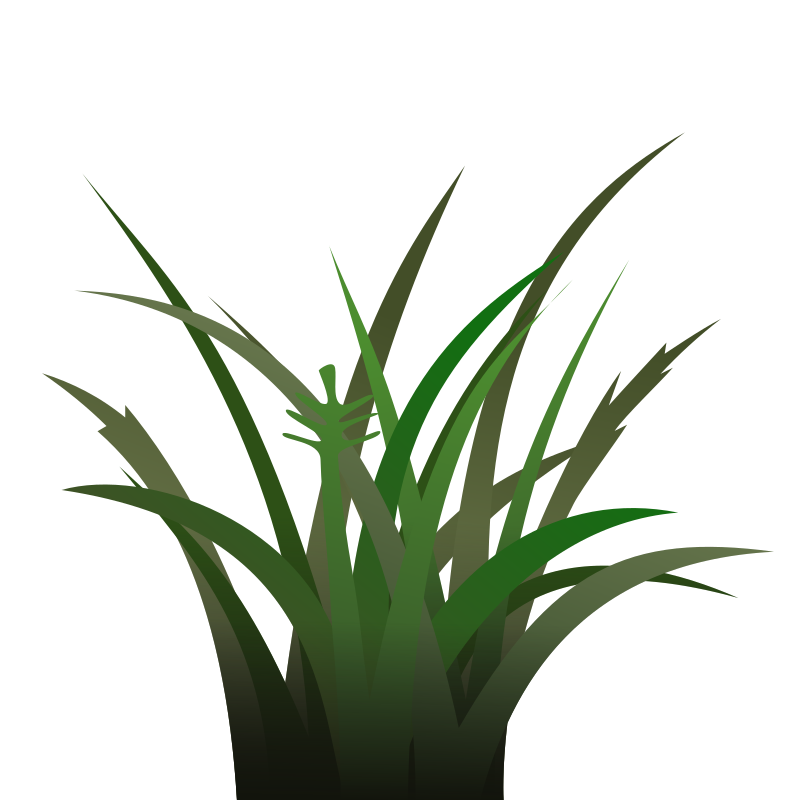 Dark Grass Shaded by qubodup