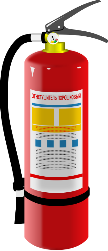 Clipart - Fire-extinguisher
