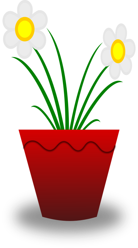 clipart flower in pot - photo #4