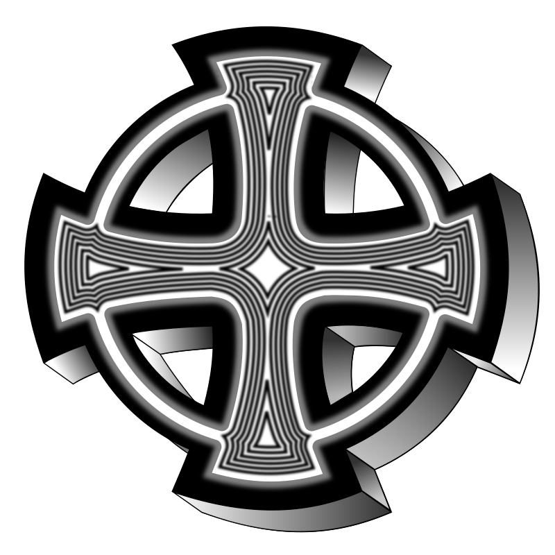 Celtic cross by roshellin