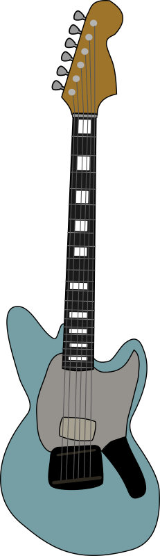 Fender Jagstang by Piemaster - A svg of a Fender Jagstang
