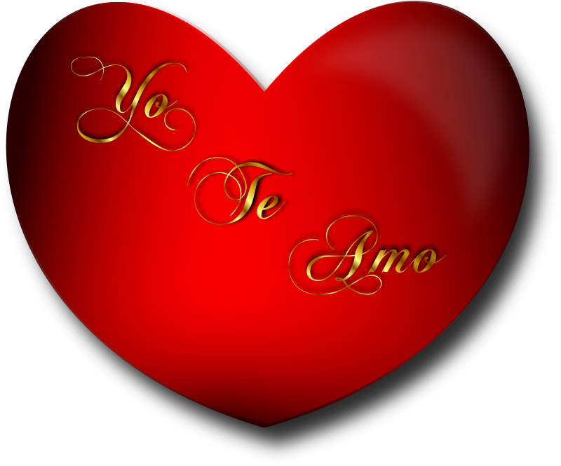 Corazon Yo Te Amo by Merlin2525 - A Valentine Heart with the Spanish ...
