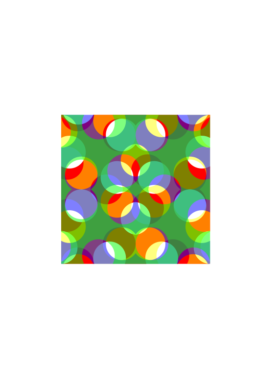 Colourful Square pattern 3 by jabbamp - A colourful square pattern