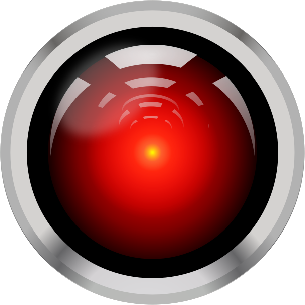 HAL9000 WhiteBG by rduris