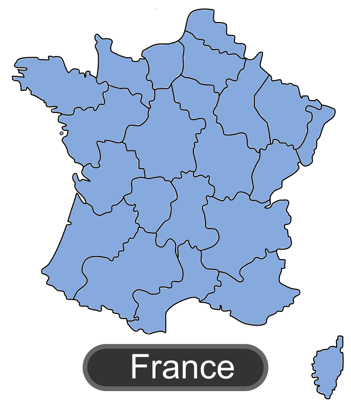 Map of France by maxime8 - Map of France