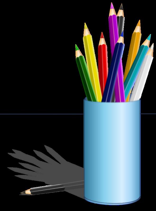 Clipart - color pencil