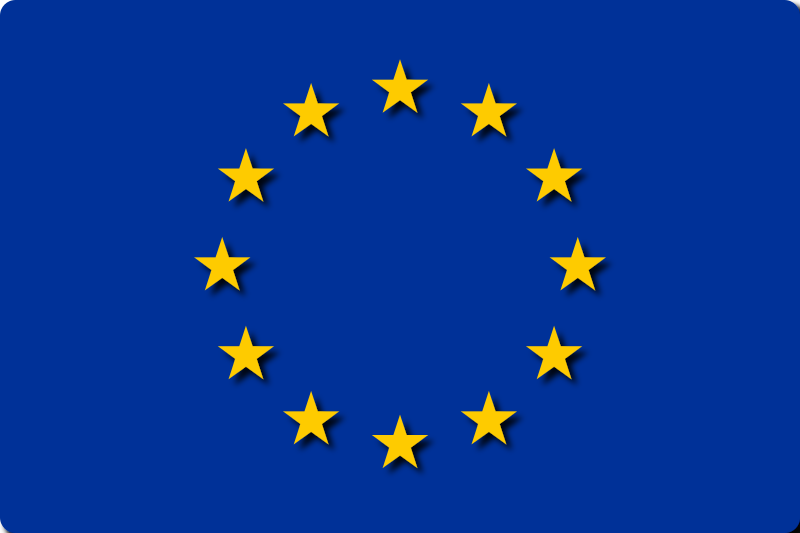 Flag of EU by gadgetscode