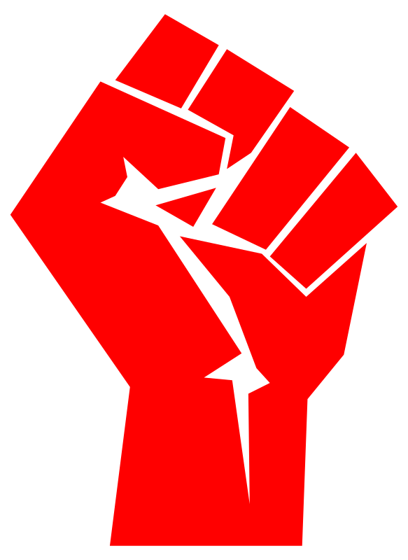 fist by worker