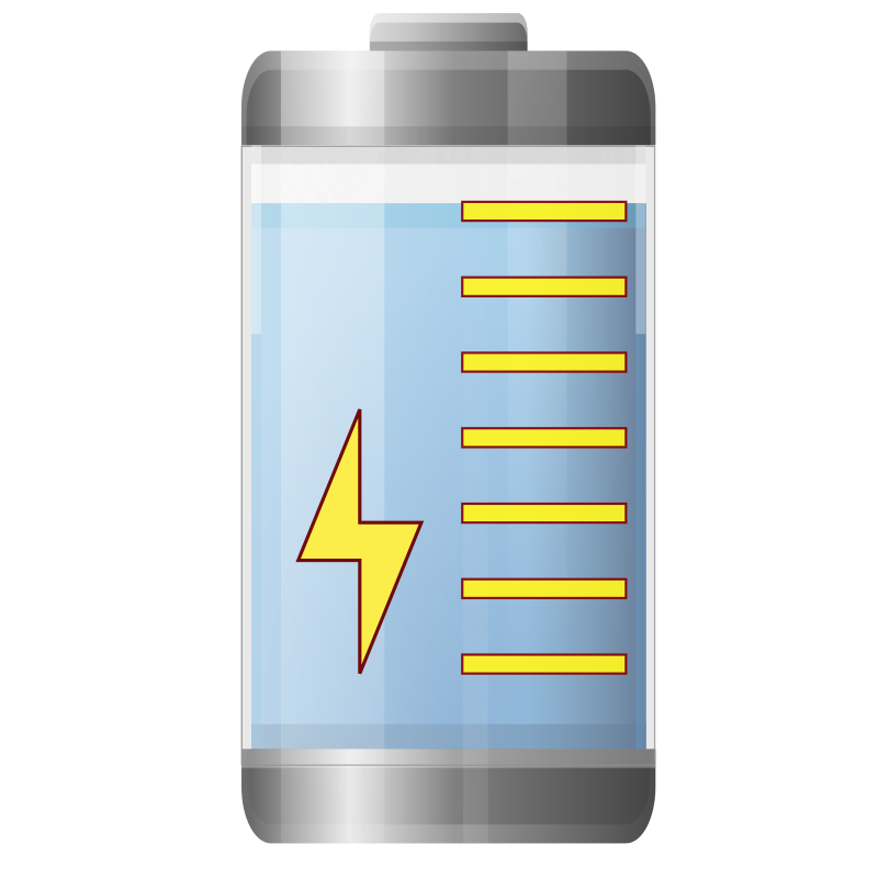 Battery by ilnanny - Part  the my Icontheme for Gnome.