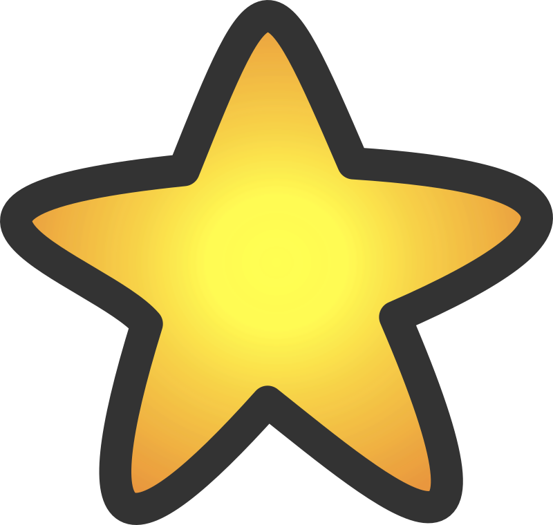 Gold star by klainen - gold star created by the image uploaded by ensarija