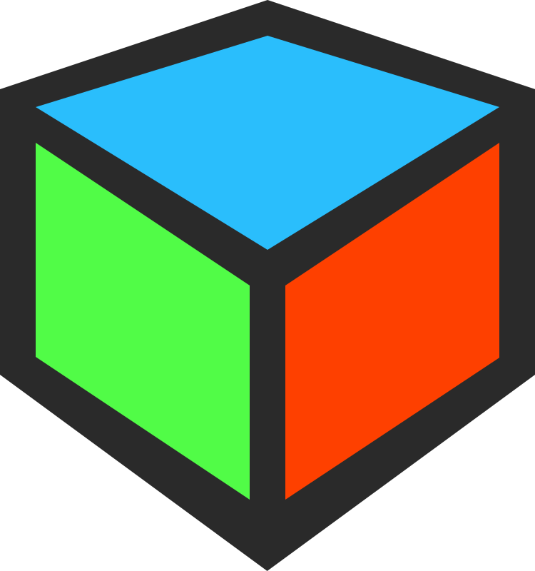 3D Cube Icon by qubodup - 3d cube icon