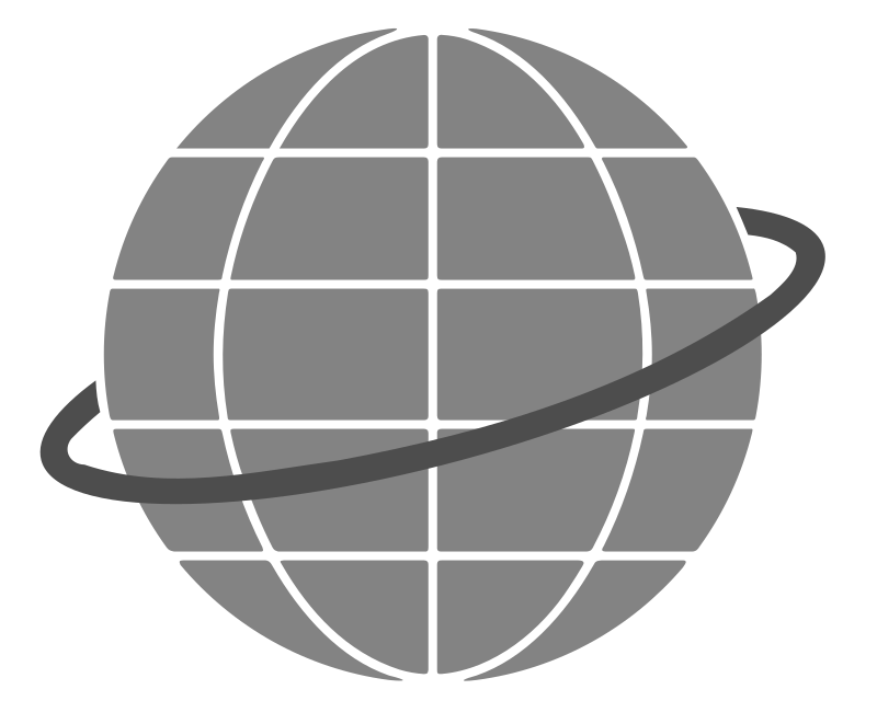 Simple Globe by bnielsen - A simple icon representation of a globe.