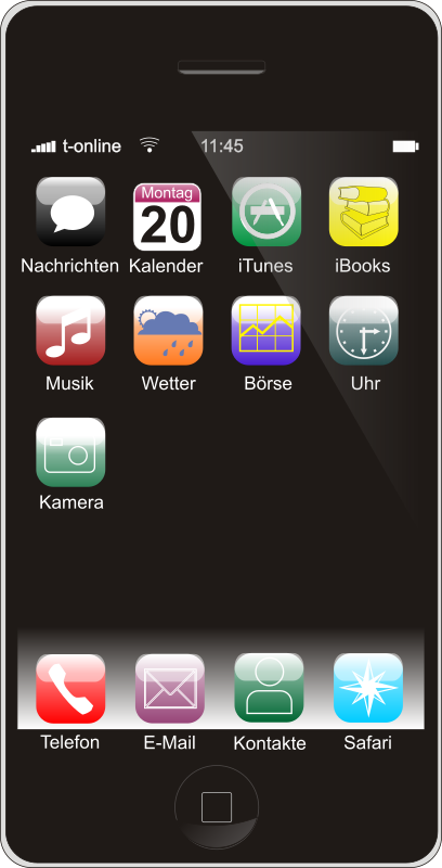 Smartphone (German Version) by zorro - smartphone