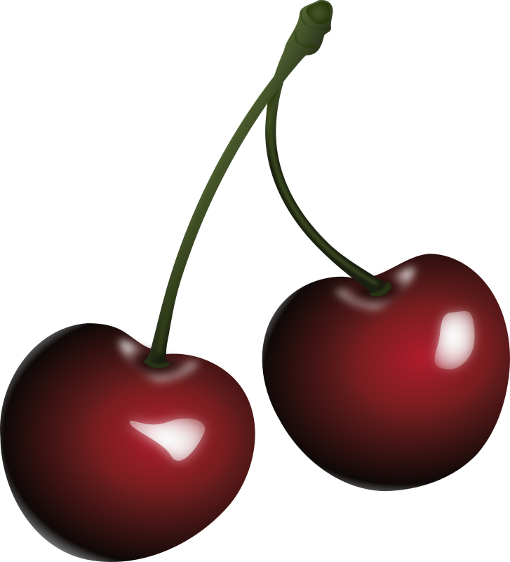 cherries, vyšnios, food by Keistutis