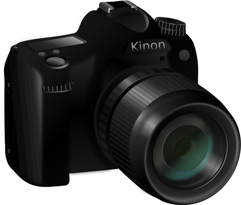 Clipart camera foto - Foto in camera ...