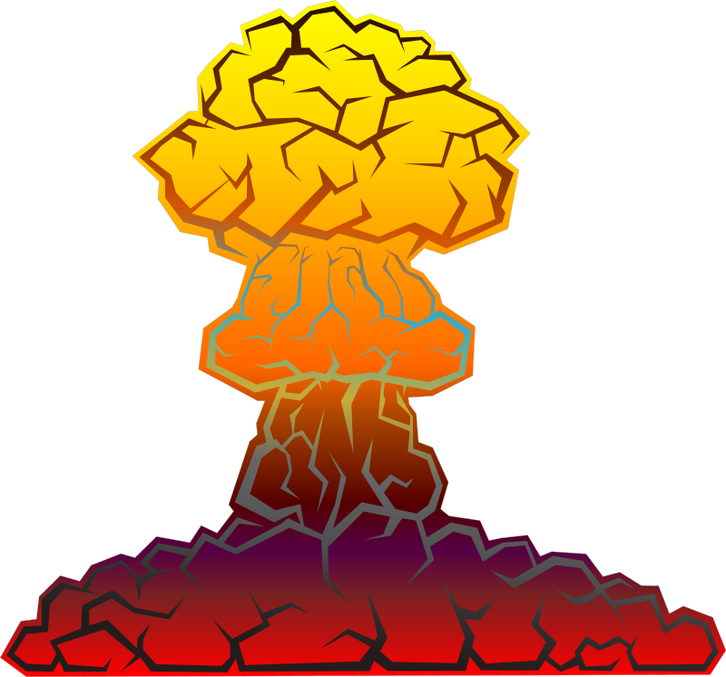 Nuclear Explosion by kg - nuclear explosion