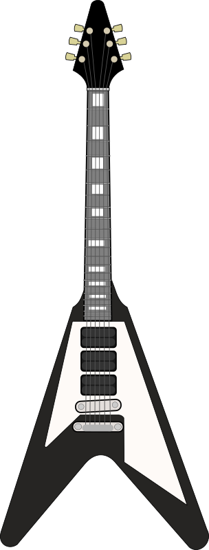 Gibson Flying V by Piemaster - A svg I made of a Gibson Flying V