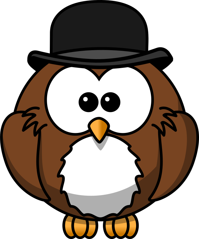 Owl with derby by bocian - Owl with derby