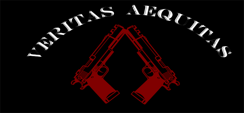 Veritas  Aequitas by X-Ray - Veritas Aequitas is latin and means Truth and Justice