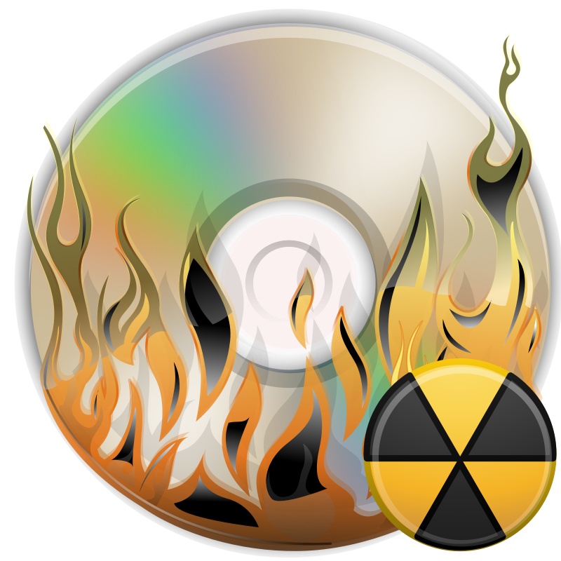 Burn disk by ilnanny - disk burning icon - http://ilnanny.deviantart.com/,