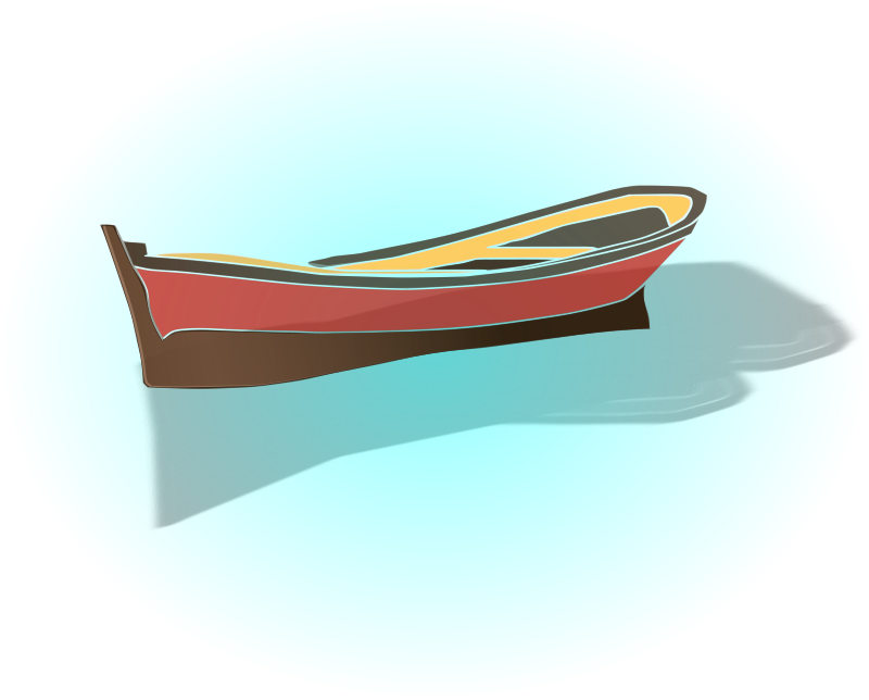 boat by hatalar205 - a simple boat clipart