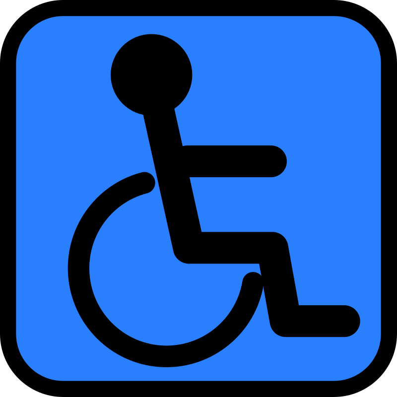 Accessible sign by Tavin - a Accessibility Icon