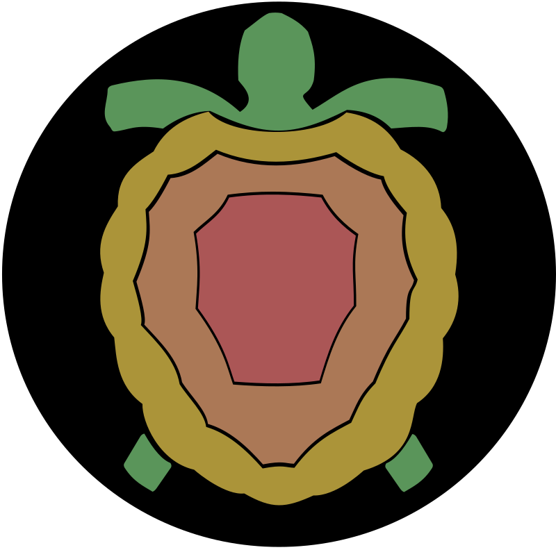 Turtle by haelstrom - abstract turtle