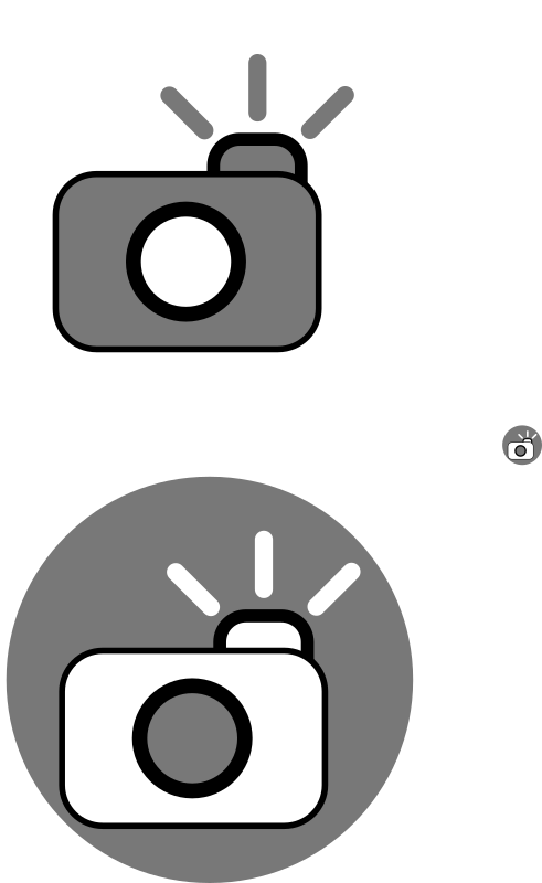Camera icons by txapelgorri - I used another OpenClipArt draw to make this for some icon I needed :)  Resize it to fit your needs! :)