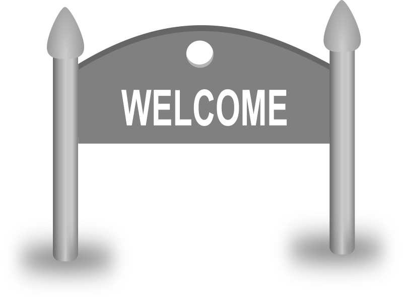 Welcome Sign board by gsagri04 - Welcome sign board