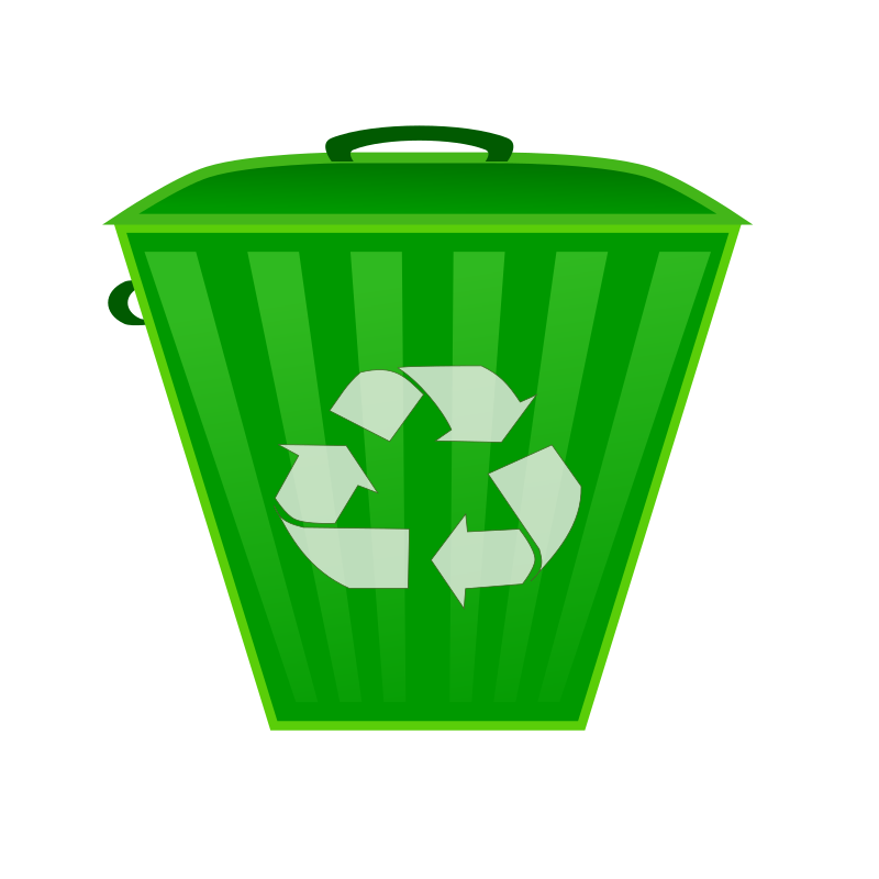 Recycle Bin by netalloy - earth day series