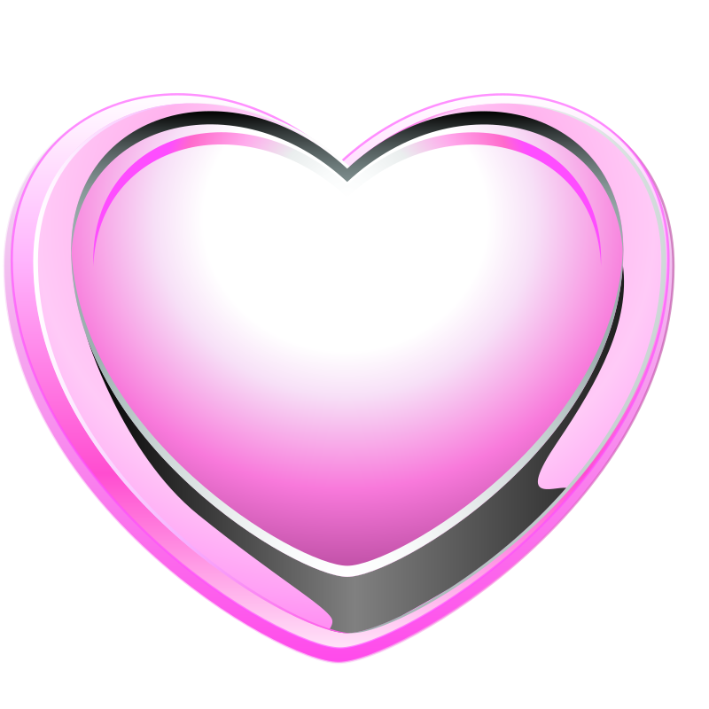 Pink Heart by ilnanny - pink heart