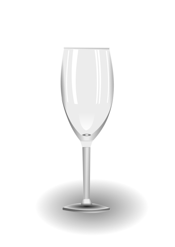 Clipart - wine glass
