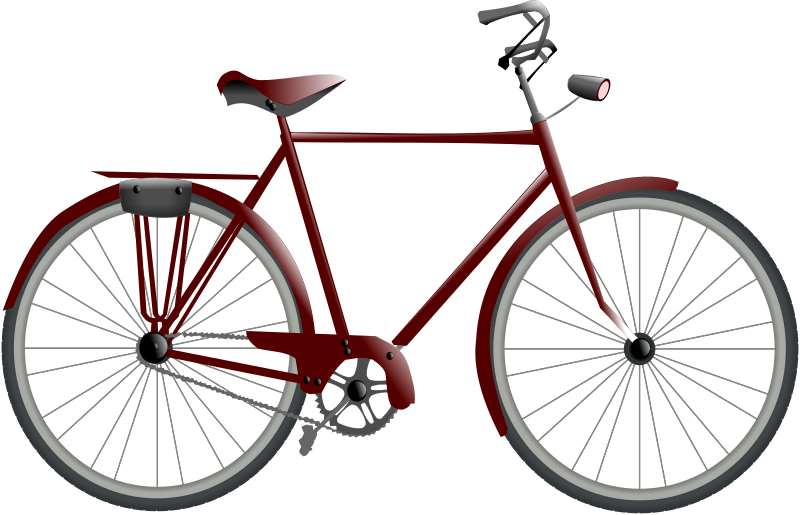 bicycle by hatalar205 - A simple clipart. Thanks to Carlos Asmat / carlitos for the bike wheels. It can be found here http://openclipart.org/detail/7902/bikewheel-by-carlitos