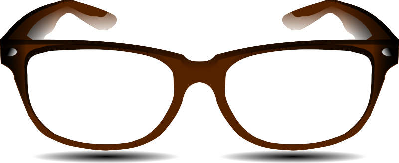 glasses by hatalar205 - A simple glasses clipart