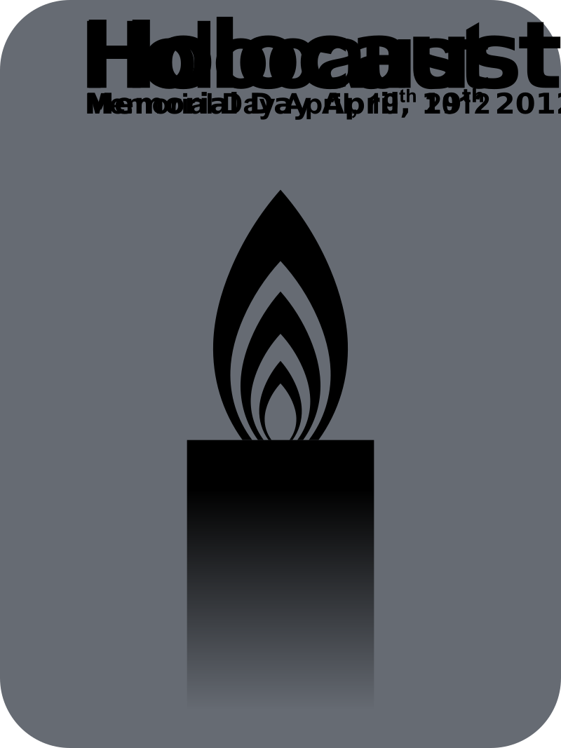 HolocaustMemorialDay 20120419 by kg