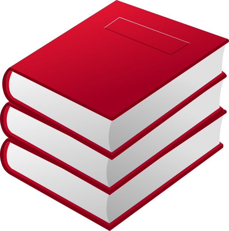 3 red books by dynnamitt - 3 red books