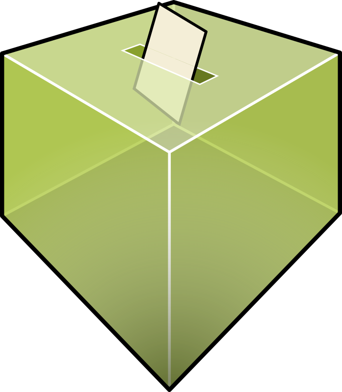 Vote by mathafix - Urne de vote.
