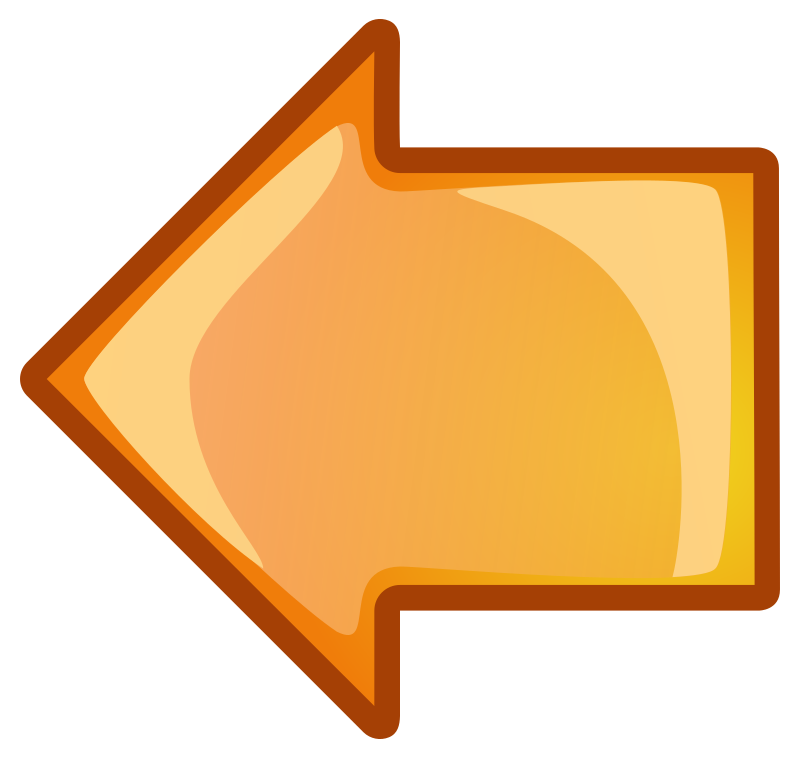 Clipart - arrow-orange-left